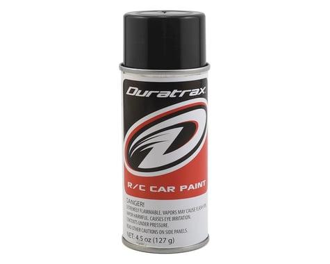DuraTrax Polycarb Basic Black Spray Paint (4.5oz)