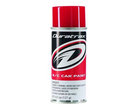 DuraTrax Polycarb Spray (Racing Red) (4.5oz)