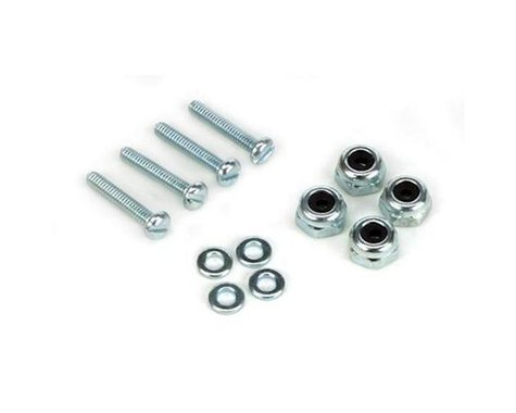 DuBro Bolt & Lock Nut Set 2-56 x 1/2