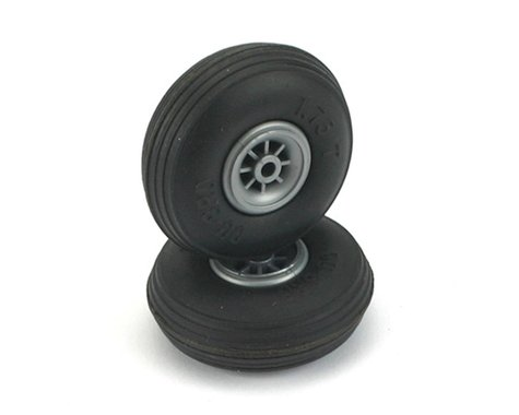 "DuBro 1-3/4"" Treaded Wheels"