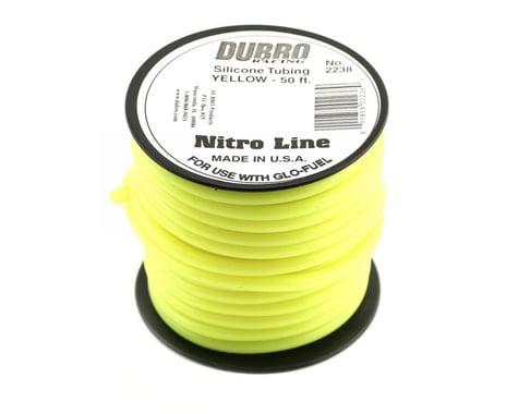 "DuBro ""Nitro Line"" Silicone Fuel Tubing (Yellow) (50')"