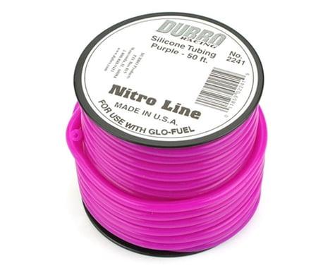 """DuBro """"Nitro Line"""" Silicone Fuel Tubing (Purple) (50')"""