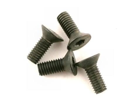 DuBro 3x8mm Flat Head Socket Screws (4)