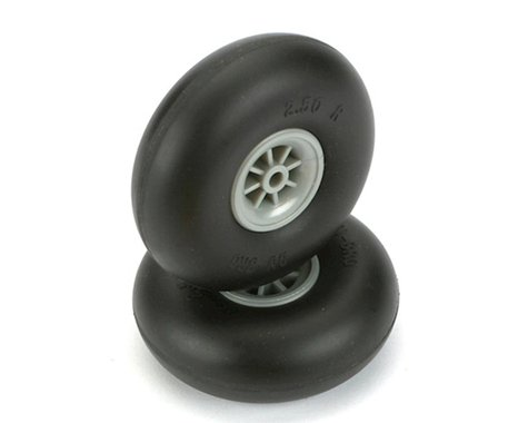 "DuBro Smooth Wheels (2), 2-1/2"""