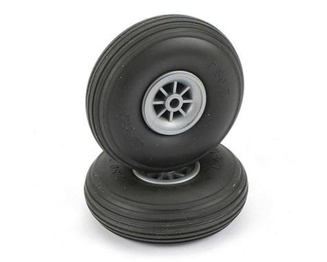 "DuBro Treaded Wheels, 2-1/2"""