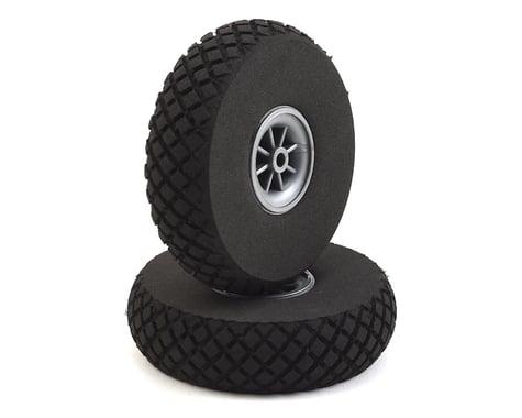 "DuBro 3"" Diamond Lite Wheels (2)"