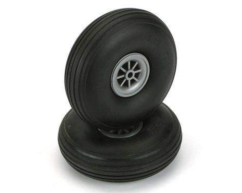 "DuBro 3-1/4"" Treaded Wheels (2)"