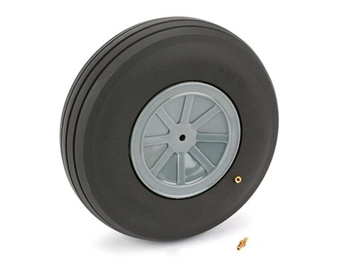 "DuBro Treaded Wheel,Large Scale,6"""