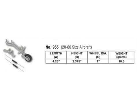 DuBro Semi-Scale Tailwheel System: 20-60