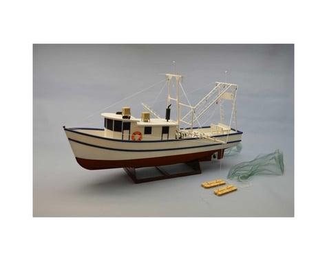 """Dumas Boats 1 24 Rusty Coastal Shrimp Boat Kit 36"""""""