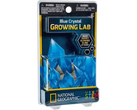 Discover With Dr. Cool *BC* NATIONAL GEOGRAPHIC CRYSTALLAB BLUE