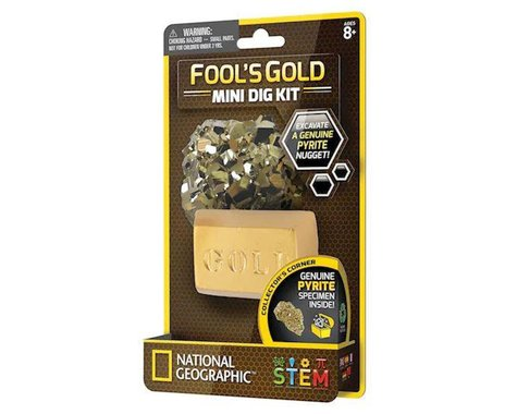 Discover With Dr. Cool National Geographic Dig Fools Gold