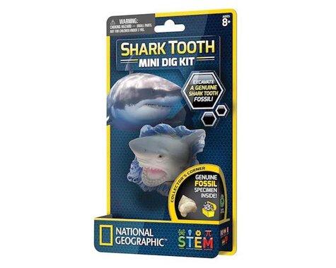 Discover With Dr. Cool National Geographic Mini Dig Shark