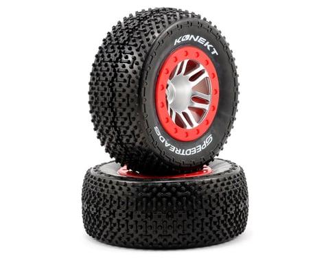 Dynamite 12mm Hex Speed Treads Konekt Pre-Mounted Tire Set (2) (Slash Front)