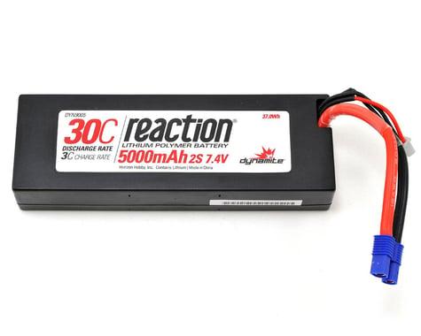 Dynamite Reaction 2S 30C Hard Case LiPo Battery w/EC3 Connector (7.4V/5000mAh)