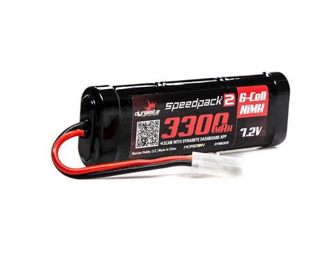 Dynamite Flat Tamiya Speedpack2 7.2V 3300mAh 6C NiMH Battery DYNB2070