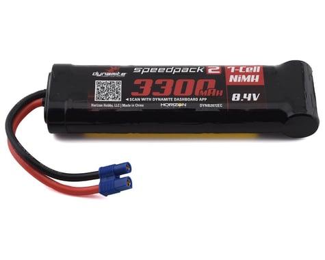 Dynamite Flat EC3 Speedpack2 8.4V 3300mAh 7C NiMH Battery DYNB2072EC