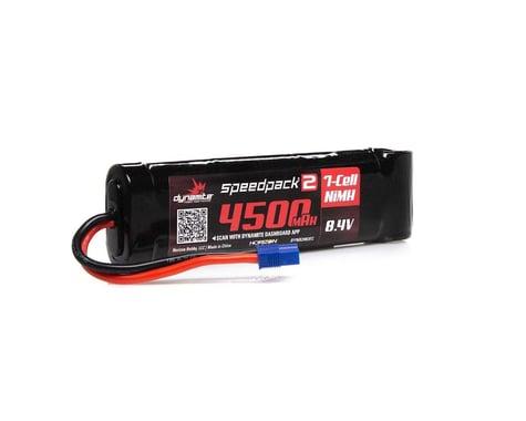 Dynamite Flat EC3 Speedpack2 8.4V 4500mAh 7C NiMH Battery DYNB2082EC