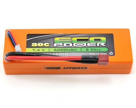 "EcoPower ""Electron"" 2S 30C Hard Case LiPo Battery (7.4V/5000mAh) (ROAR Approved)"