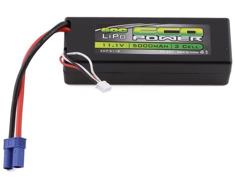"EcoPower ""Basher"" 3S 60C Hard Case LiPo Battery w/EC5 (11.1V/5000mAh)"