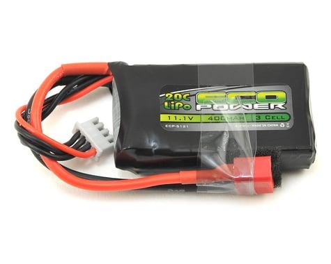 "EcoPower ""Electron"" 3S LiPo 20C Battery (11.1V/400mAh)"