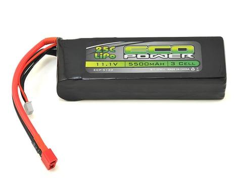 "EcoPower ""Electron"" 3S LiPo 25C Battery (11.1V/5500mAh)"