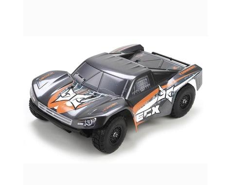 ECX Torment1:18 4WD Short Course Truck:Gray/OrangeRTR