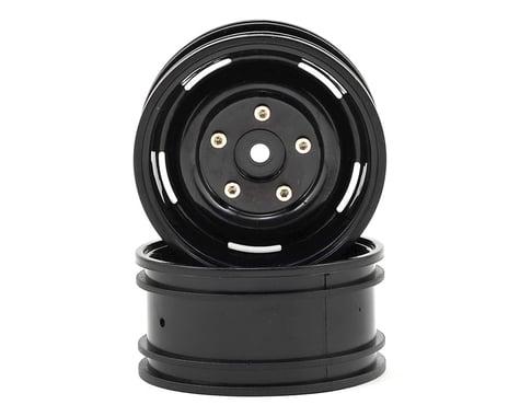 "ECX Barrage 1.9"" Plastic Crawler Wheel (2) (Black)"