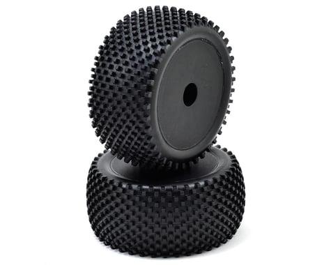 ECX Premounted Rear Tire (Black) (2) (Boost)