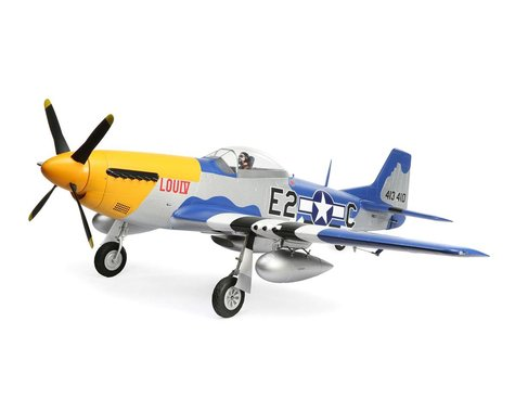 E-flite P-51D Mustang BNF Basic w/Smart ESC & AR637TA (1500mm)