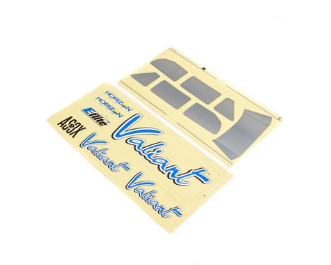 E-Flite Valiant 1.3: Decal Sheet EFL4963