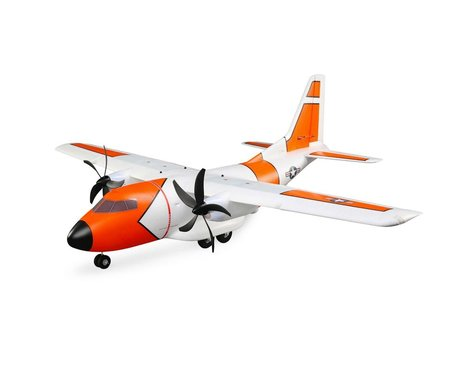 E-flite EC-1500 Twin BNF Basic Electric Cargo Airplane (1524mm)