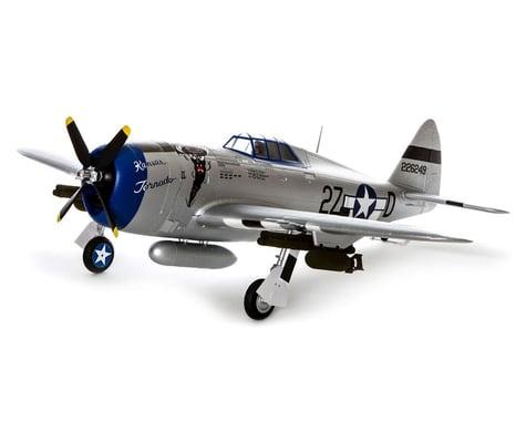 E-flite P-47D Razorback 1.2m Plug-N-Play Electric Airplane