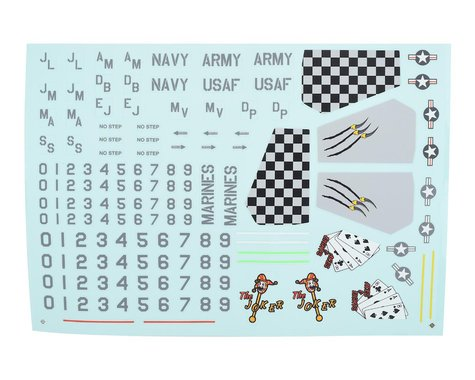 E-flite V-22 Osprey Decal Sheet