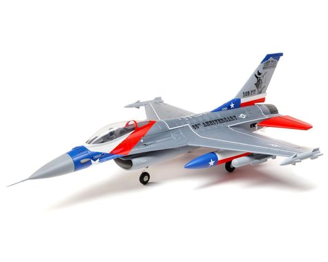 E-flite F-16 Falcon 64mm EDF PNP Electric Ducted Fan Jet Airplane (729mm)