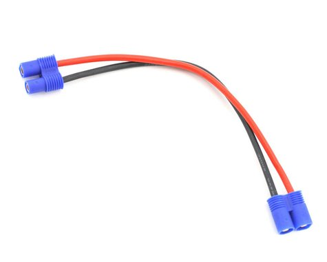 """E-flite EC3 Extension Lead w/6"""" Wire (16GA)"""