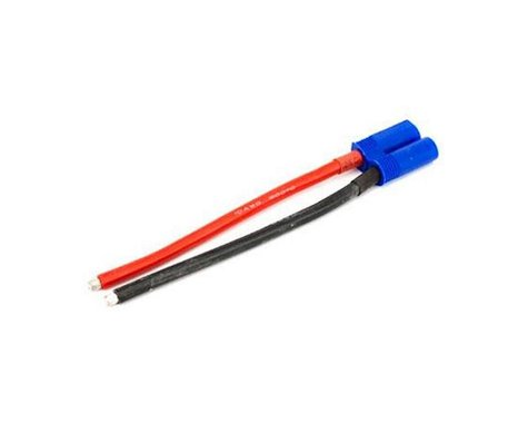 "E-flite EC5 Device Connector Pig Tail w/4"" Wire (10awg)"