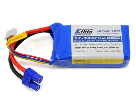 E-flite 3S LiPo Battery 20C (11.1V/1300mAh)