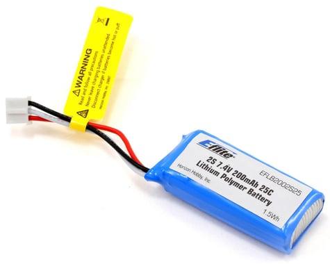 E-flite 2S LiPo Battery 25C (7.4V/200mAh)