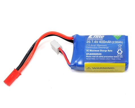 E-flite 2s LiPo Battery 30C (7.4V/400mAh)