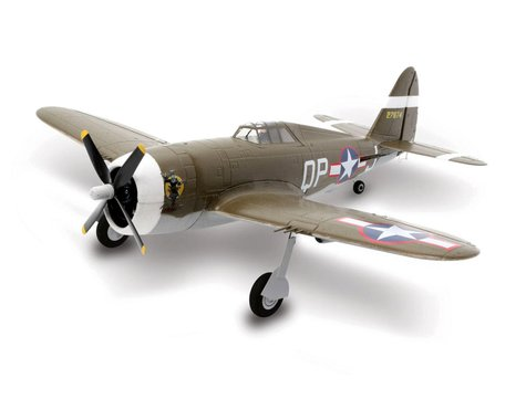 E-flite Ultra-Micro UMX P-47 BL BNF Basic Electric Airplane (482mm)