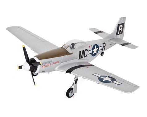 E-flite UMX P-51 BL Ultra-Micro BNF Electric Airplane (493mm)
