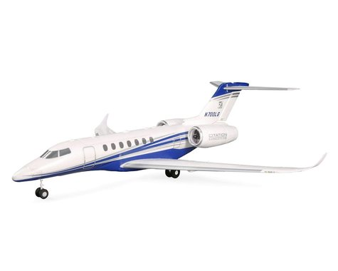 E-flite UMX Citation Longitude Twin 30mm EDF BNF Basic Electric Airplane (638mm)