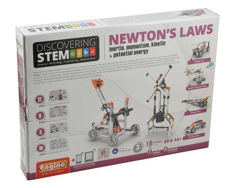 Elenco Electronics Engino STEM Newton's Law