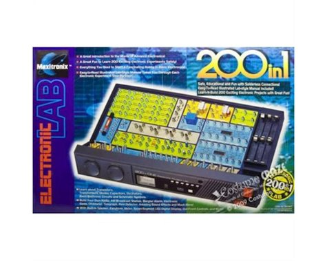 Elenco Electronics 200-In-1 Electronic Project Lab