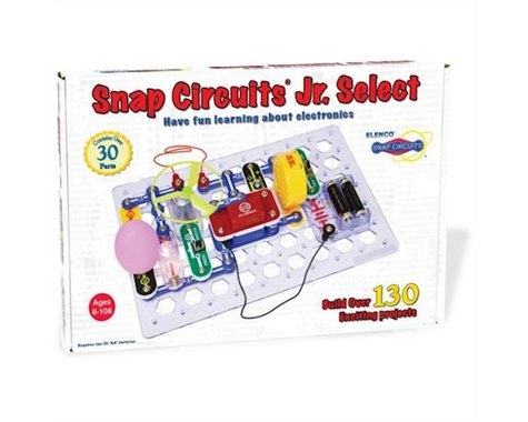 Elenco Electronics Snap Circuits Jr Select 130-In-