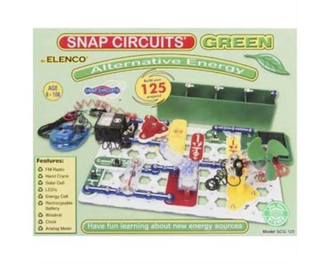Elenco Electronics Snap Circuits Green Alternative Energy Kit
