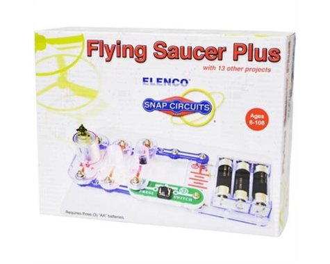 Elenco Electronics Flying Saucer Plus Mini Kit