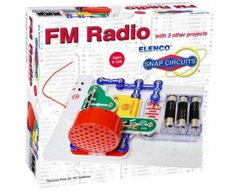 Elenco Electronics Elenco SCP-12 Snap Circuits FM Radio with 3 other Projects