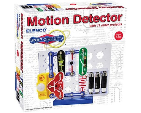 Elenco Electronics Elenco SCP-13 Snap Circuits Motion Detector with 11 other Projects